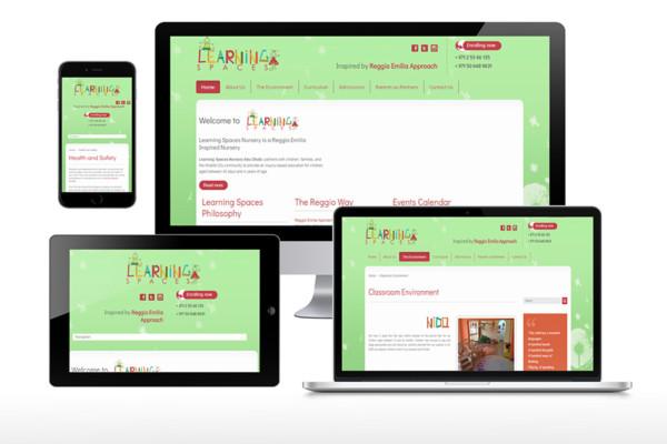 Learning Spaces Nursery Website
