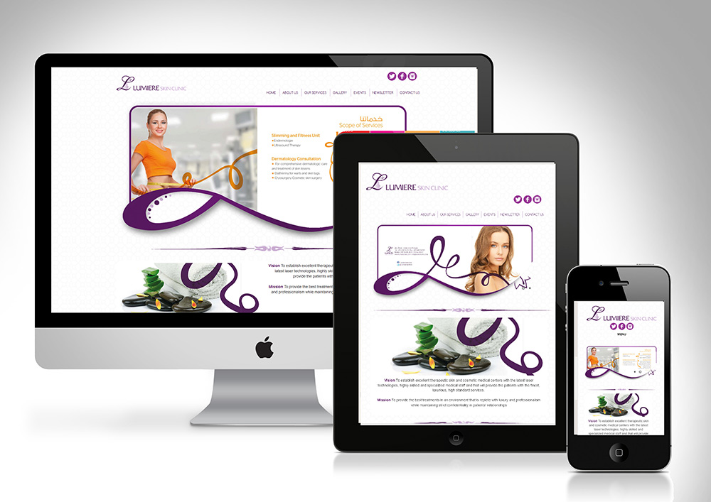 Lumiere Clinic Website