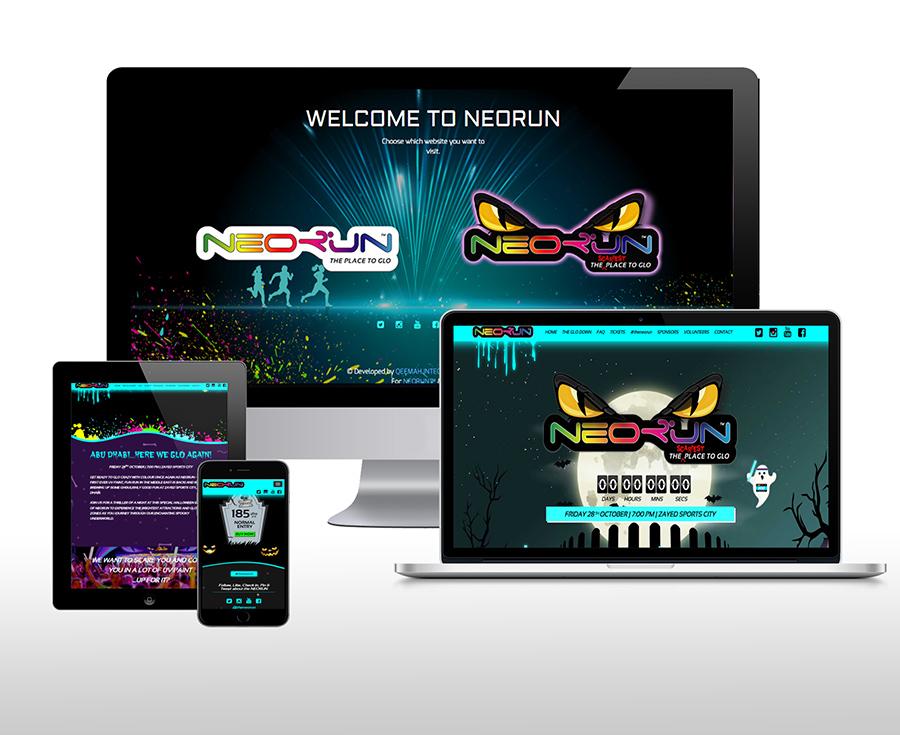 NEORUN Website