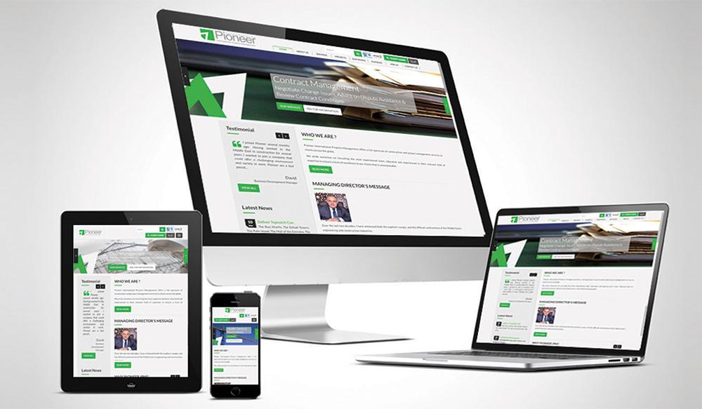 Pioneer Website
