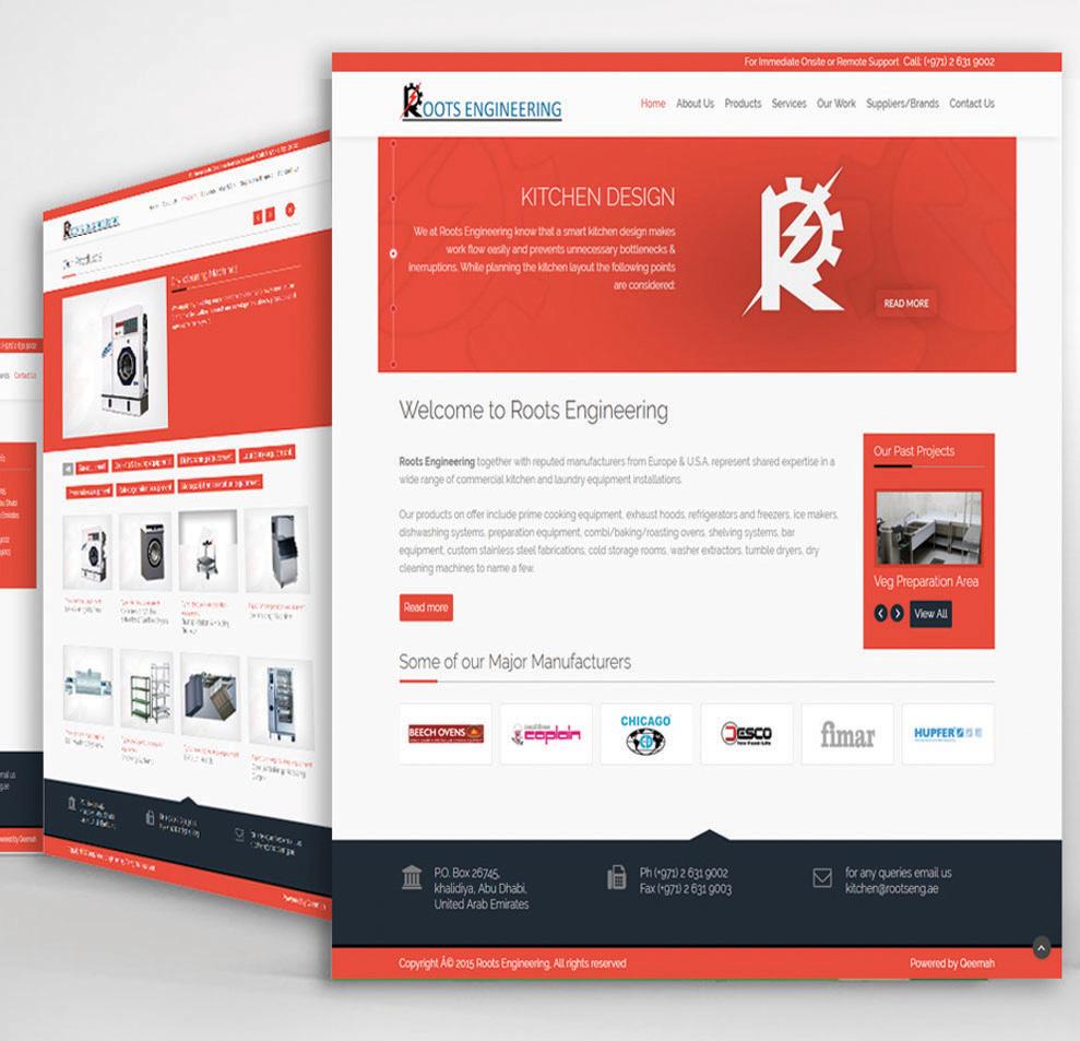 Roots Engineering Website