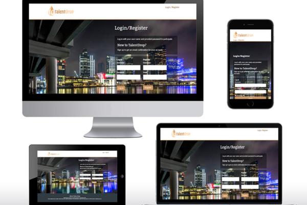 Talentdrop Website